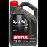 Motul Specific LL-04 5W40 5L MOTUL (1 garrafa de 5 litros)