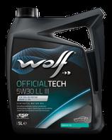 ACEITE WOLF OFFICIALTECH 5W30 LL III  (Garrafa de 5 litros)