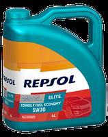 Lubricante Repsol ELITE COSMOS F FUEL ECONOMY 5W-30 lata de 4 litros