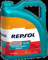 Lubricante Repsol ELITE EVOLUTION POWER 1 5W-30 lata de 5 litros