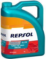 Lubricante Repsol ELITE TURBO LIFE 50601 0W-30 lata de 5 litros