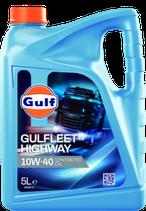 Aceite Gulfleet Highway 10W40 1 garrafa de 5 litros