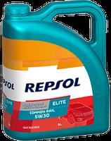 Lubricante Repsol ELITE COMMON RAIL 5W-30 lata de 5 litros