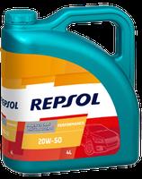 Lubricante Repsol PERFORMANCE HIGH MILEAGE 25W-60 lata de 4 litros