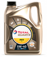 Aceite Total quartz INEO C3 5w40 garrafa de 5 litros