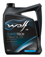 ACEITE WOLF GUARDTECH 15W40 SL/CF (Garrafa de 5 litros)