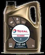 Garrafa de 5 litros Total Classic 9 5w40