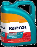 Lubricante Repsol ELITE EVOLUTION POWER 4 5W-30 lata de 5 litros