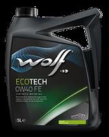 ACEITE WOLF ECOTECH 0W40 FE (Garrafa de 5 litros)
