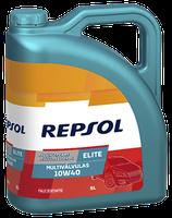 Lubricante Repsol ELITE MULTIVALVULAS 10W-40 lata de 5 litros