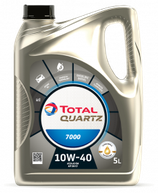 Garrafa de 5 litros Total Quartz 7000 10w40