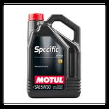 Motul Specific 229.52 5W30 5L MOTUL (1 garrafa de 5 litros)