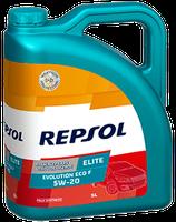 Lubricante Repsol ELITE EVOLUTION ECO F 5W-20 lata de 5 litros