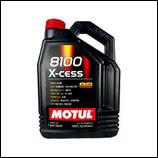 Motul 8100 X-Cess 5W40 5L MOTUL (1 garrafa de 5 litros)