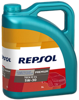 Lubricante Repsol PREMIUM TECH RC4 5W-30 lata de 5 litros