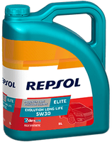 Lubricante Repsol ELITE EVOLUTION LONG LIFE 5W-30 lata de 5 litros