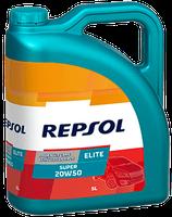 Lubricante Repsol ELITE SUPER 20W-50 lata de 5 litros