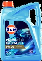 Garrafa Gulf progress extended 5w30 (1 caja de 3 garrafas de 5 litros)