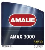 Lubricante AMALIE AMAX 3000 5W-30 Garrafa de 5 litros