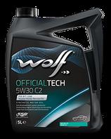 ACEITE WOLF OFFICIALTECH 5W30 C2 (Garrafa de 5 litros)