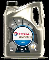 Garrafa de 5 litros Total Quartz 7000 10w40 (1 caja de 3 latas de 5 litros)