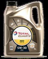 Garrafa de aceite total quartz INEO Long Life 5w30 5 litros