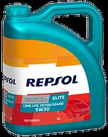 Lubricante Repsol ELITE LONG LIFE 50700/50400 5W-30 lata de 5 litros