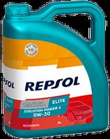 Lubricante Repsol ELITE EVOLUTION POWER 2 0W-30 lata de 5 litros