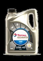Aceite Total Quartz 7000 Energy 10w40 (1 caja de 3 garrafas de 5 Litros)