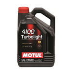 Motul 4100 10W40 Turbolight 5l MOTUL (1 garrafa de 5 litros)