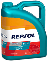 Lubricante Repsol ELITE EVOLUTION 5W-40 lata de 5 litros