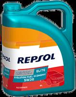 Lubricante Repsol ELITE EVOLUTION FUEL ECONOMY 5W-30 lata de 5 litros