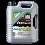 LIQUI MOLY Special Tec, AA Aceite de motor  0W-20, garrafa de 5L, Aceite sintetico