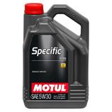 Motul Specific RN 0720 5W30 5L MOTUL (1 garrafa de 5 litros)
