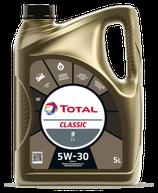 Garrafa de aceite Total Classic 9 C1 5w30 (1 caja de tres garrafas de 5 litros)