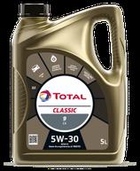 Garrafa de aceite Total Classic 9 C4 5w30 5 litros