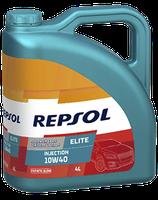 Lubricante Repsol ELITE INJECTION 10W-40 lata de 4 litros