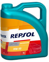 Lubricante Repsol PERFORMANCE 20W-50 lata de 4 litros