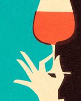 Dégustation du vins 4 verres