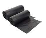 Plastic Refuse Bags Black