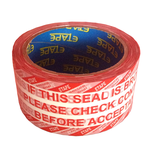 Moving Printed If Seal Is Broken Tape