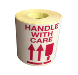 Handle With Care 500 Label Per Roll