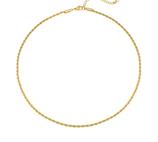 YG-04004 Ketting goud kleurig Like a Boss stainless steel