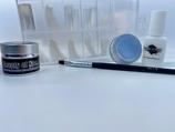 Combideal 02 Builder 5ml+Gel penseel nr6+Nageltips 100st+Lijm7gr+Chroompoeder, manicure, pedicure, gelnagels, acrylnagels, nepnagels
