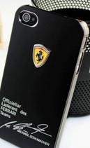 Coque Ferrari noire iphone 4/4S