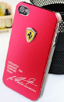 Coque Ferrari rouge iphone 4/4S