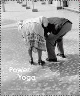 """Brillenputztuch """"Senioren-Yoga"""""""