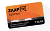 12 months ZAAPTV subscription Arab package