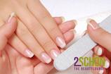 2Schön Manicure mit Lack