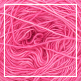 "Merino Single Lace solids ""Hot Pink"" - 50g"